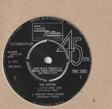 KIM WESTON Kim Weston Tamla Motown TME 2005 Rare EP - NO SLEEVE