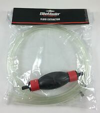 BikeMaster Motorcycle Fluid Extractor Siphon Hose Gas  Hand Pump Priming SCOOTER