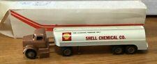 Winross White Shell Chemical Tractor/Tanker Trailer 1/64