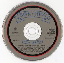 "BON JOVI ""NEW JERSEY"" RARE FRANCH CD / HARD ROCK - HEAVY METAL - JON BON JOVI"