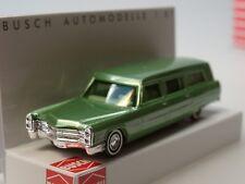 Busch Cadillac Station Wagon, Leichenwagen, hellgrün met. - 42921 - 1:87