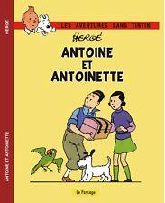 TINTIN. Antoine et Antoinette. Histoire publicitaire années 30. Cartonné; Inédit