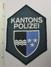AARGAU SWITZERLAND KANTONS POLIZEI POLICE PATCH Vintage Original SWISS