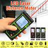 Handheld Digital Laser Point Distance Meter Measure Tape Range Finder