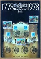 Francobolli Italia 1978 - 200 anni Scala - valori diversi - annulli figurati