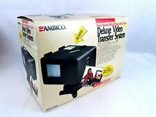 Ambico Deluxe Video Transfer System Movie Editing Slides Photos Model V-0650