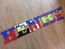Wooden Letters Superhero Wall Art... Price Per Letter