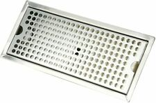 Heavy Duty Draft Beer Drip Tray Flush Mount Beer Drip Tray With Drain12l X 5w