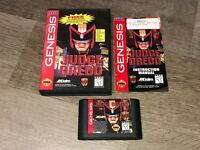 Judge Dredd Sega Genesis Complete CIB Authentic