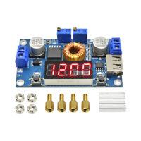 5A CC CV LED Display Drive Lithium charger Power Step-down Module +USB Voltmeter