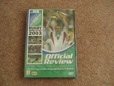Rugby World Cup - Official Review 2003 (DVD, 2003) Brand new Sealed