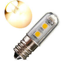 E14 7LED 5050SMD 1W/220V Candle Light Lamp Fridge Corn Bulb Warm White