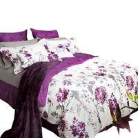 Bamboo Cotton ELLA Premium 300 Thread Count Duvet Cover Bedding Bed Set Floral