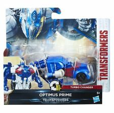 NEW OFFICIAL TRANSFORMERS THE LAST KNIGHT 1-STEP TURBO CHANGER OPTIMUS PRIME
