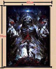 Anime Wall Scroll poster Overlord Momonga Ainz Ooal Gown Home Decor collection