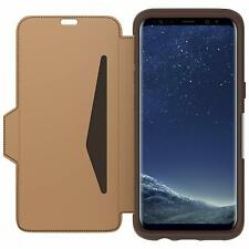 Otterbox Strada Leather Folio Case for Samsung Galaxy S8 - Brown