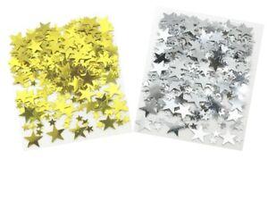 0.5oz Silver / Gold Stars Party Confetti Wedding Anniversary Table Decoration