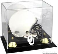 Oklahoma Sooners Golden Classic Logo Mini Helmet Display Case - Fanatics