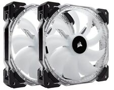 Corsair HD140 RGB LED High Performance 140mm PWM Fan - Twin Pack with Controller