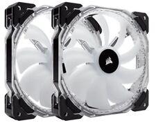 Corsair hd140 RGB LED ALTO RENDIMIENTO 140mm PWM Fans - Paquete Gemelo