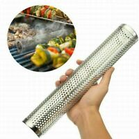 BBQ Smoker Tube Generator Wood Pellet Grill Cold Smoke Mesh Stainless Steel