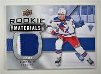 2019-20 Series 2 Rookie Materials #RM-LH Libor Hajek - New York Rangers