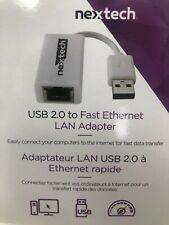 USB 2.0 To Ethernet LAN Network Adapter