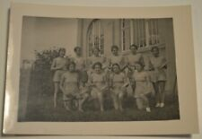 RARE 1937/38 Photo pre war WWII Germany True Aryans Girls with tambourines Real