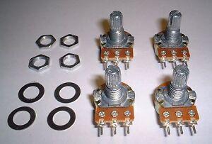 4 off 10K Ohm Liner Taper Potentiometers for Arudino.UK Seller