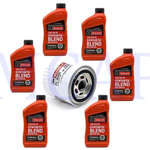 Oil change combo Lincoln Blackwood 4.6L Motorcraft oil 5w30 + oil filter FL820S