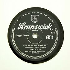 "PEGGY LEE ""I Don't Know Enough About You"" BRUNSWICK 05714 [78 RPM]"