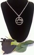 ALCHEMY ROCKS NECKLACE - PINK FLOYD DARK SIDE OF THE MOON PENDANT PP508