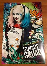 SUICIDE SQUAD HARLEY QUINN PROMOTIONAL MOVIE POSTER 11x17 - MARGOT ROBBIE