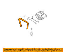 SUBARU OEM 01-04 Outback 3.0L-H6 Serpentine Drive-Alternator Belt 809221100