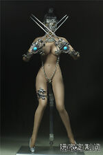 1/6 Scale Customize Impartial fork Clothing For Phicen Female Large Bust Figure