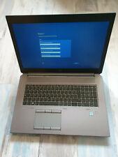 """HP zBook 17 G5 Core i5-8400H 2.5GHz 17.3"""" FHD RAM 16GB SSD 512GB NVIDIA P2000"""