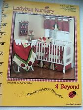 LADYBUG NURSERY & BEYOND BY MARTY WALKER FROM FOUR CORNERS DESIGNS