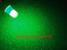 1000pcs 5mm Green  Diffused LED Light Lamps fog