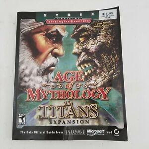 Age of Mythology Titans Expansion Pack Walkthrough Guide Book Strategy Secrets