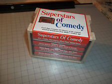 Superstars of Comedy Cassette Collection NEW Sealed Original Box FAST SHIPPING!!