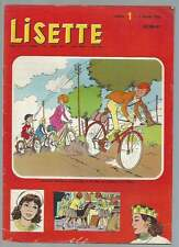 PÉRIODIQUE LISETTE N°1 . 1966 .