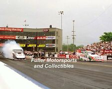 JOHN FORCE TIM WILKERSON 2000 NHRA FUNNY CAR 8X10 PHOTO PONTIAC EXCITEMENT NATS