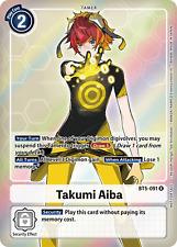 ALTERNATIVE ART Takumi Aiba (BT5-091) - BT05 Battle of Omni