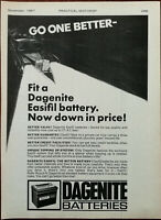 Dagenite Batteries Fit A Dagenite Easy Fill Battery Vintage Advertisement 1967