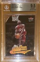 🔥POP 8! 2004-05 LeBron James FLEER ULTRA GOLD MEDALLION #114 BGS 9.5 PSA lakers