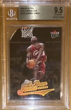 🔥POP 8! 2004-05 LeBron James FLEER ULTRA GOLD MEDALLION #114 BGS 9.5 PSA lakers