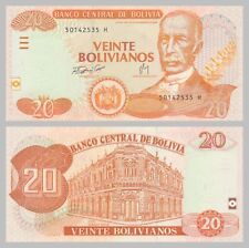 Bolivien / Bolivia 20 Bolivianos 2007 p234 unz.