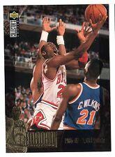 Michael Jordan 1995 Upper Deck Jordan Collection 1986-87 - 3000 Points Card