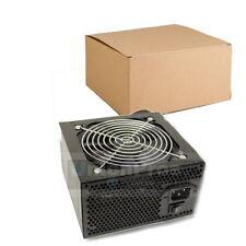 650 Watt Power Supply for Intel AMD PC Desktop Computer NEW 120mm 12cm Fan Black