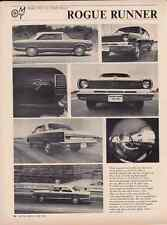 1967 AMC RAMBLER ROUGE  ~  GREAT 2-PAGE ARTICLE / AD